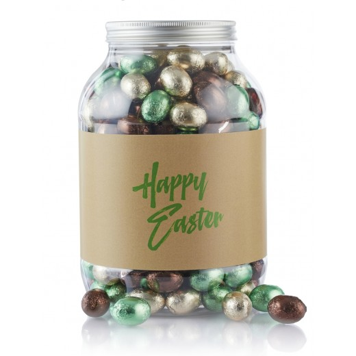 by PR 2 kg. Multicolur pralinéæg i cylinder Happy Easter-32