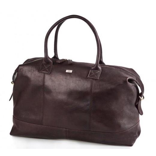 Bon Goût Rejsetaske i læder, Brun-310