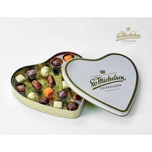 Sv. Michelsen Hjerteæske med 20 dessertchokolader-33