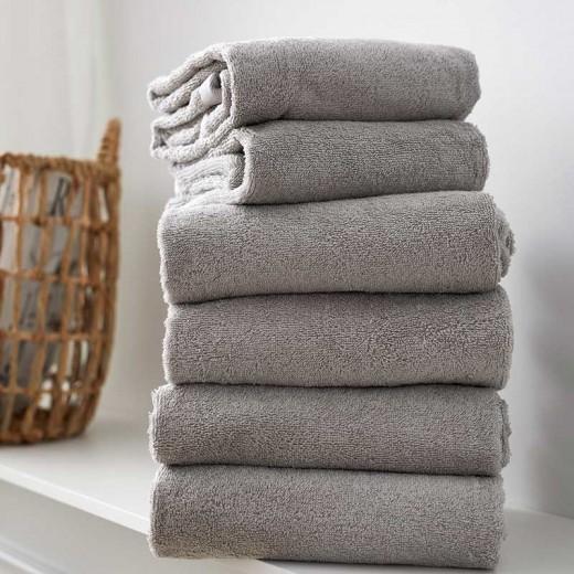 Södahl Comfort Organic Håndklædepakke i Lysgrå-312