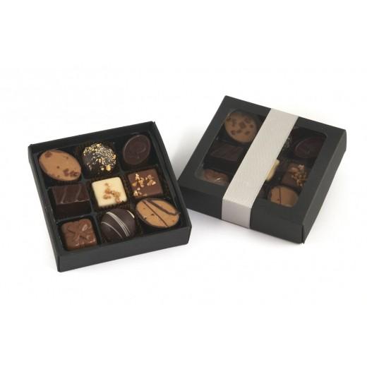by PR luksus chokolade stykker, 9 stk.-31