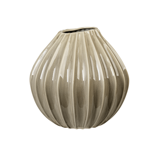 Broste Copenhagen Wide Vase Rainy Day, 40 cm-336