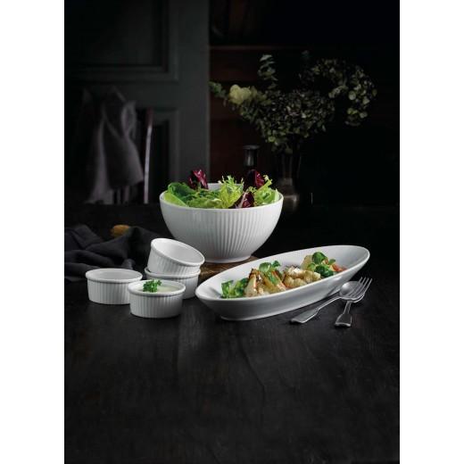 Pillivuyt Plisse Skål, Serveringsfad og Ramekiner-325