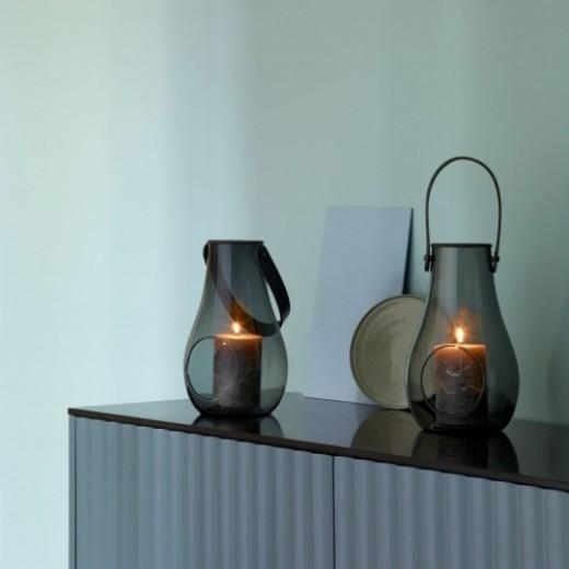 Holmegaard Design with Light Lanterner, smoke-337