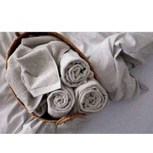 Södahl Sengetøj Chambray nature 220 cm med håndklæder, Comfort-021