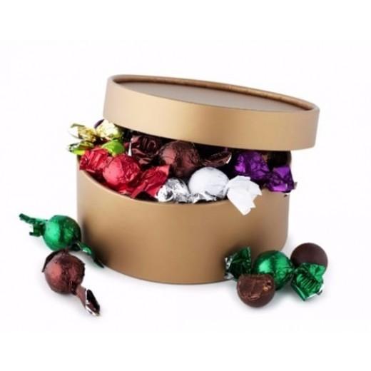 by PR fyldte chokoladekugler i hatteæske-32