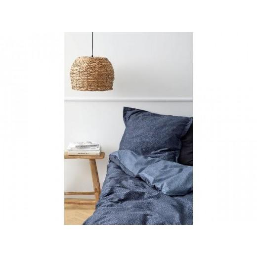 Södahl Satinvævet Sengetøj Balance i Indigo blå, 220 cm-323