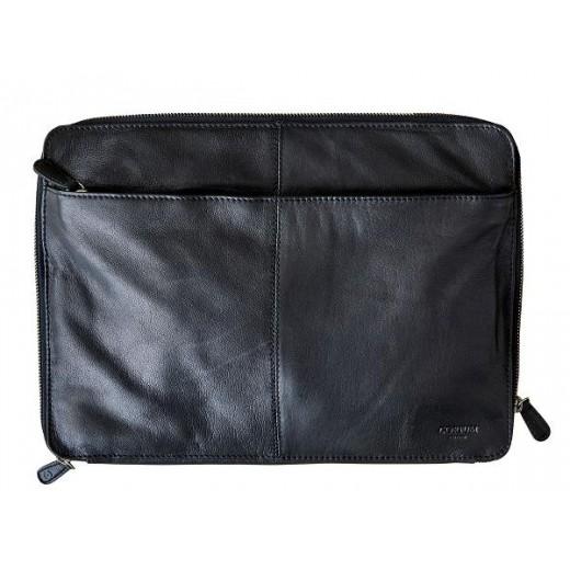 """Corium 13"""" Computer taske i sort skind-033"""