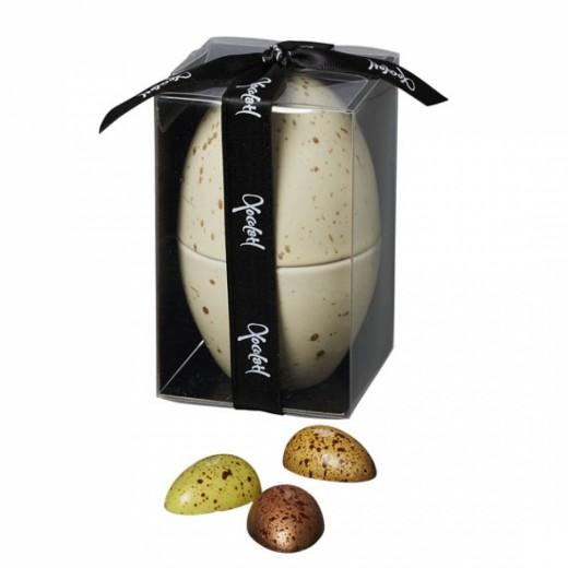 Xocolatl Porcelænsæg med påskeæg i gaveæske-04