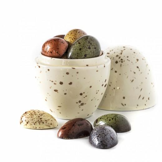 Xocolatl Porcelænsæg med påskeæg i gaveæske-34