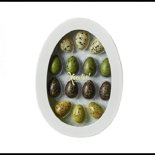 Xocolatl Påskeæg Green Easter 14 stk.-018