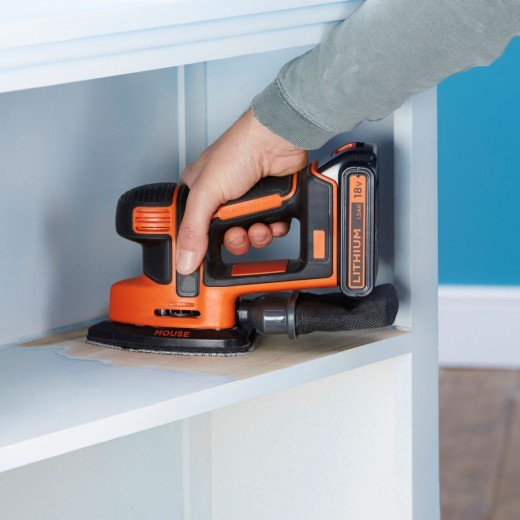 Black and Decker 18V Slibemus-33