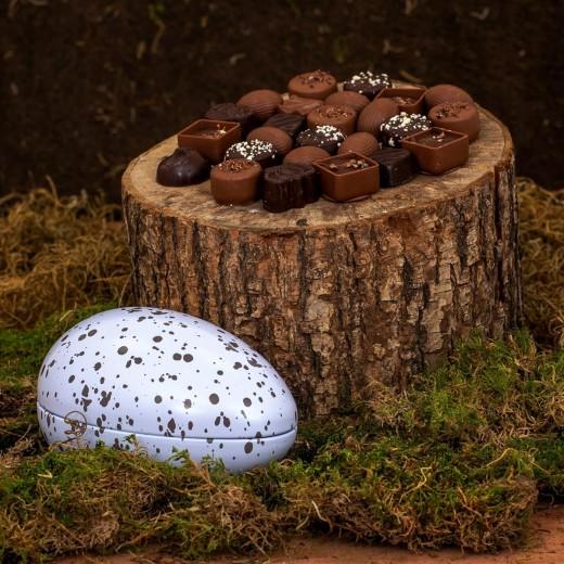 Func Tinæg med Chokoladeæg nougat-34