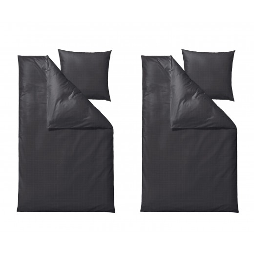Södahl Edge sengesæt 220 cm i grå-30