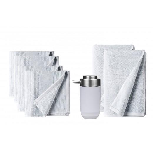 Södahl Sense Håndklæder og fragment sæbedispenser-00
