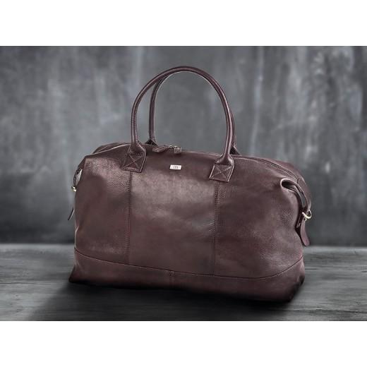 Bon Goût Rejsetaske i læder, Brun-010