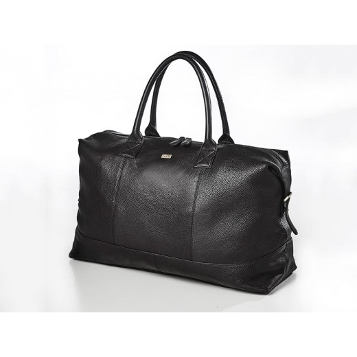 Bon Goût Rejsetaske i læder, sort-34