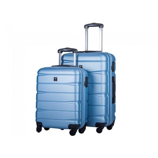 Bon Goût Trolleysæt, lysblå-36