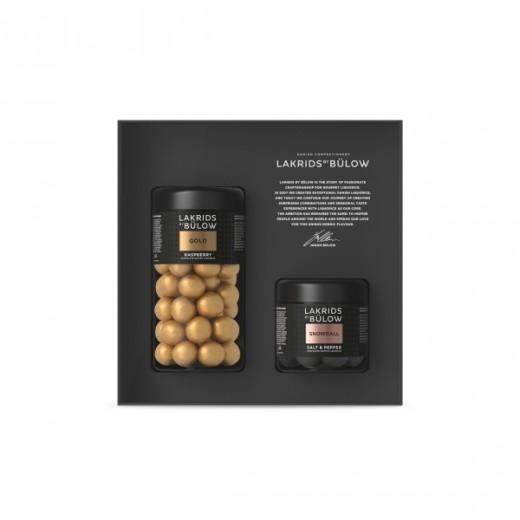 Lakrids by Bülow Black Box Regular + Small (Gold/Snowball)-322