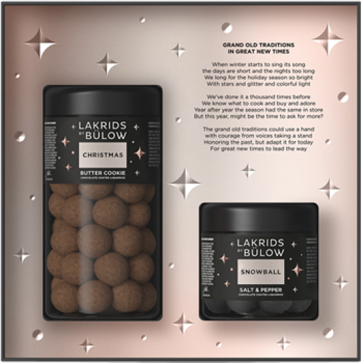 Lakrids by Bülow Black Box Regular + Small (Christmas/Snowball)-323