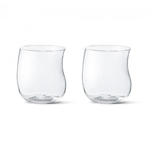 Georg Jensen Cobra Tumbler Glas, 2 stk.-30