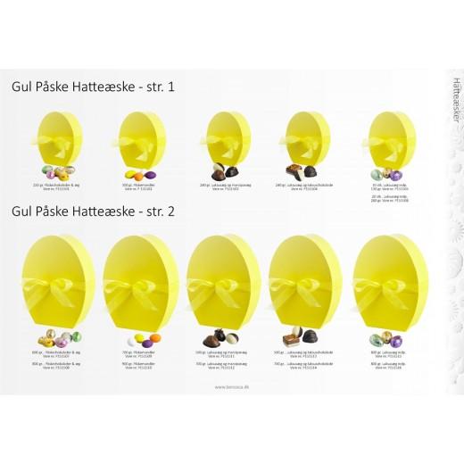 Coca Påske Hatteæske, lille gul-02