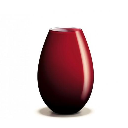 Holmegaard Cocoon Vase Rød 20,5 cm