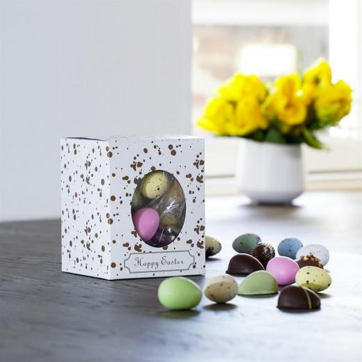 Func Happy Easter gaveæske med Påskemix og Påskeæg-314