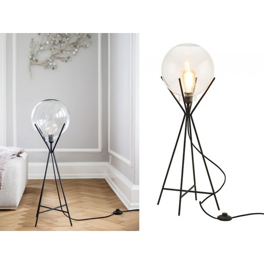 A Simple Mess Knold Lampe i sort-32