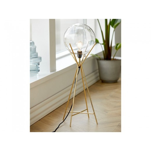 A Simple Mess Knold Lampe i messing-32