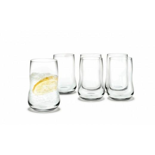 Holmegaard Future glas Klar 6-pack 25 cl