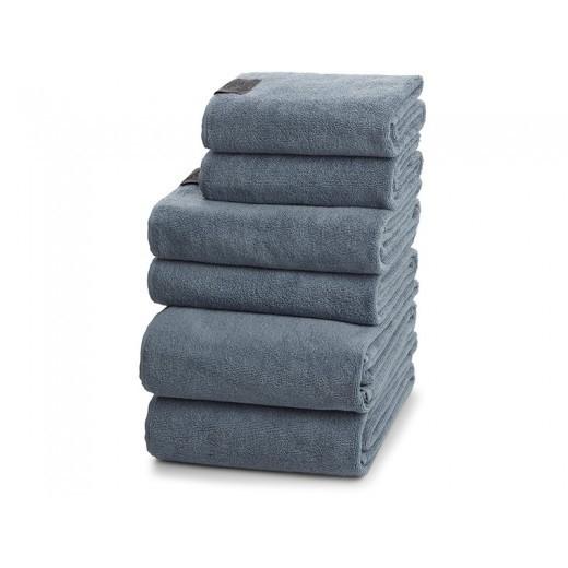 Georg Jensen Damask Håndklædepakke i Dusty Blue gave 6-37