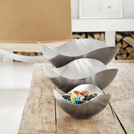 Georg Jensen Bloom Bowl, Petite, Smal and Large
