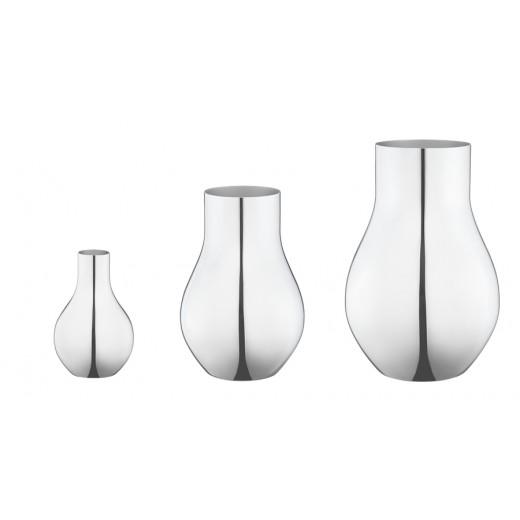 Georg Jensen Cafu vase, stål-01