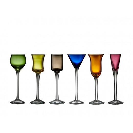 Lyngby Glas Snapseglas-00