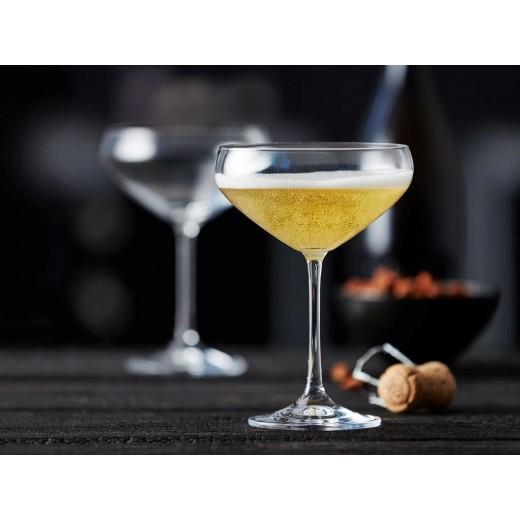 Lyngby Glas Champagneskåle Juvel, 4 stk.-30
