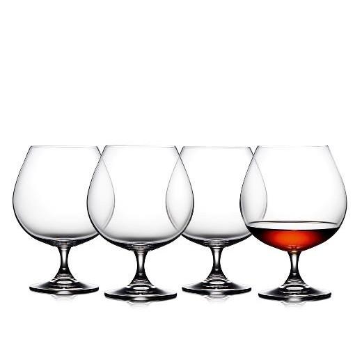Lyngby Glas Juvel Cognacglas, 4 stk.-31