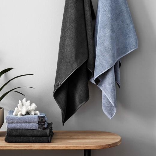 Georg Jensen Damask Gave 4 Håndklædepakke i Steel Grey-00