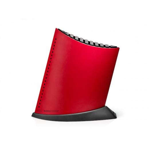Global Knivblok, Rød med sorte prikker