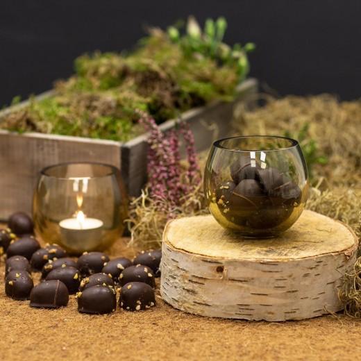 Func Holmegaard Cocoon glas med Påskeæg-313