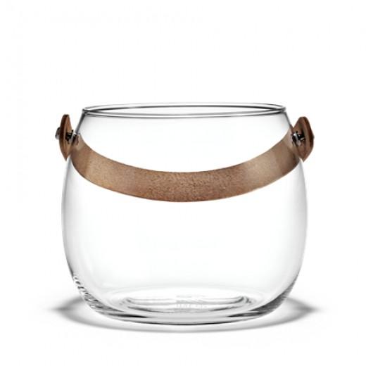 Design with light krukke mundblæst glas