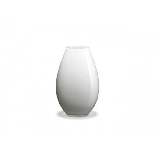 Holmegaard Cocoon Hvid Vase 17 cm