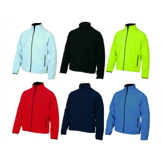 IK Hilton fleece windbreaker