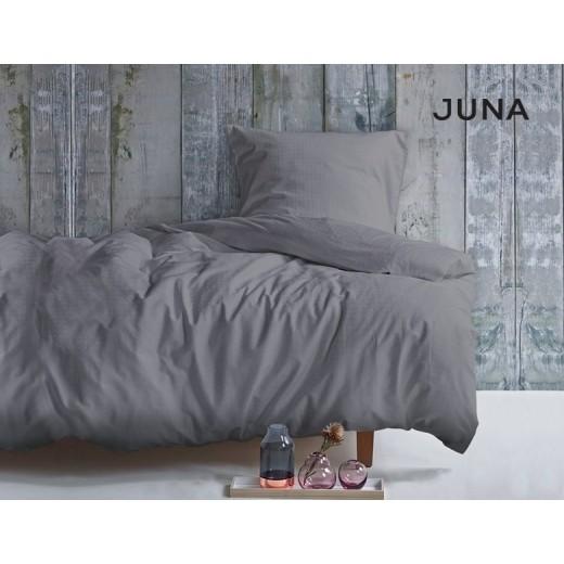 JUNA Cube Sengesæt i Grå 200 cm, 2 sæt-330