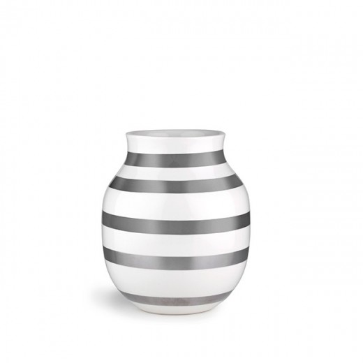 Kähler Omaggio Vase 20 cm Perlemor-01