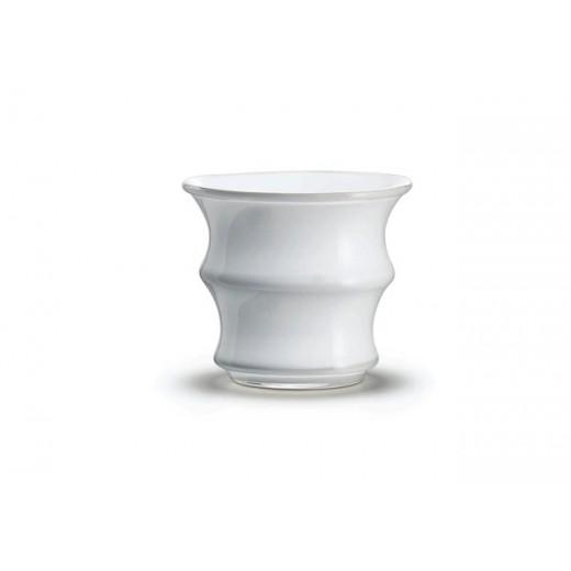 Holmegaard Karen Blixen Urtepotteskjuler hvid 10 cm