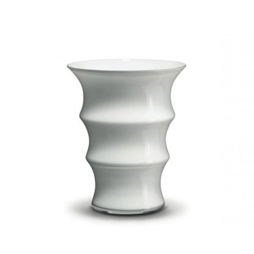 Holmegaard Karen Blixen Vase hvid 17 cm
