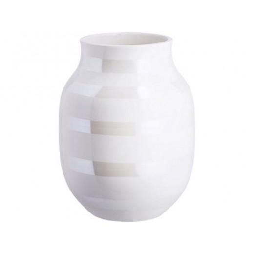 Kähler Omaggio Vase 20 cm Perlemor-31
