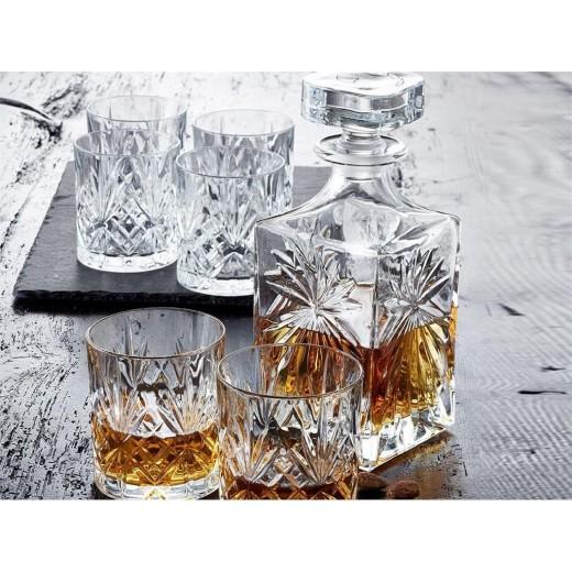 Lyngby Glas Melodia Whiskysæt, 7 dele-31