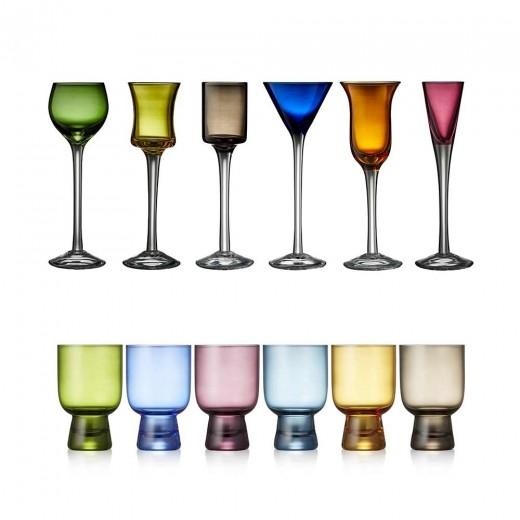 Lyngby Glas Faverige Snapse-/Shotglas-32